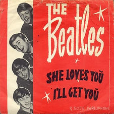 Beatles She Loves You Norway