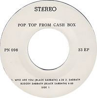 Black Sabbath - Who Are You / Sabbath Bloody Sabbath / Deep Purple - Burn / Lay Down, Stay Down - Thailand - PN 098 - 197?- side 1