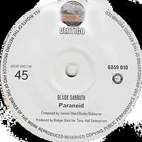 Black Sabbath - Paranoid / The Wizard - Singapore - Vertigo 6059 010- 1970 - Side 1