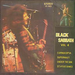 Black Sabbath - Cornucopia / Supernaut / Under The Sun / St. Vitus Dance - Thailand - IT IT-013 - 197?- Front