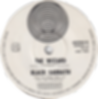 Black Sabbath - Paranoid / The Wizard - New Zealand - Vertigo 6059 019 - 1970 - Side 2