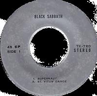 Black Sabbath - Supernaut / St.Vitus Dance / Tomorrow's Dream / Snowblind - Thailand - TKR 720 - 197?- side 1