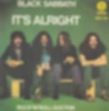 Black Sabbath - It's Alright / Rock'n'Roll Doctor - Italy - Vertigo 6079 100- 1976 - Front