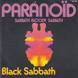 Black Sabbath  - Paranoid / Sabbath Bloody Sabbath - France - Arabella 102 280-1978