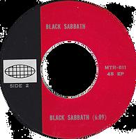 Black Sabbath - N.I.B / Black Sabbath - Thailand MTR 611 - 197?- side 2