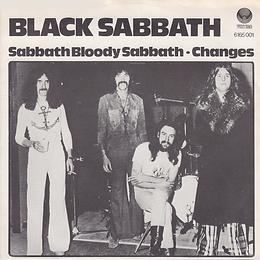 Black Sabbath - Sabbath Bloody Sabbath / Changes- Norway -Vertigo 6165 001 - 1973
