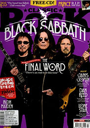 Black Sabbath Classic Rock No.224
