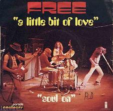 Little Bit Of Love / Sail On  Island 6138 015 - 1972