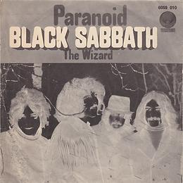Black Sabbath - Paranoid / The Wizard - Turkey - Vertigo 6059 010- 1970 - Front