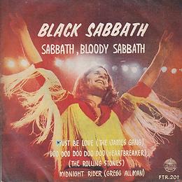 Jams Gang - Must Be Love / Black Sabbath - Sabbath Bloody Sabbath / Rolling Stones - Doo Doo Doo Doo Doo (Heartbreaker) / Gregg Allmann - Midnight Rider - - Thailand - 4 Track FTR-201 - 197?- Front