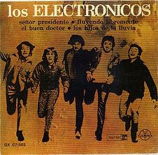 Electric Prunes Los Electronicos EP Meico