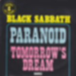 Black Sabbath - Paranoid / Tomorrow's Dream - Netherlands - Nems 79.800-Y - 1979 - Front