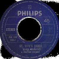 Black Sabbath - Tomorrow's Dream / St.Vitus Dance - Phillipines - Philips PHI-1192 - 197? - Side 2