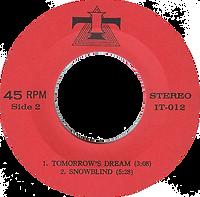Black Sabbath - Wheels Of Confusion / Tomorrow's Dream / Snowblind - Thailand - IT IT-012 - 197?- side 2