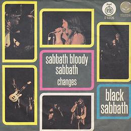 Black Sabbath - Sabbath Bloody Sabbath / Changes - Yugoslavia - Radio-Televizija Beograd S-53.726 - 1973 - Front