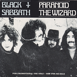 Black Sabbath - Paranoid / The Wizard - UK - Raw Power RAWP7145 - 2000 (For Promotional use only)