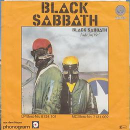 Black Sabbath - Hard Road / Symptom Of The Univers - Germany - Vertigo 6079104- 1979 - Back