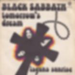 Black Sabbath - Tomorrow's Dream / Laguna Sunrise - Italy - Vertigo 6059 061- 1972 - Front