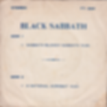 Black Sabbath - Sabbath Bloody Sabbath / A National Acrobat  - Thailand - 4 Track FT.990  - 197? - Back