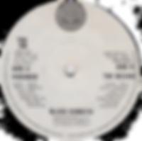 Black Sabbath -Paranoid / The Wizard - South Africa - Vertigo TOS 749 - 1970 - Side B