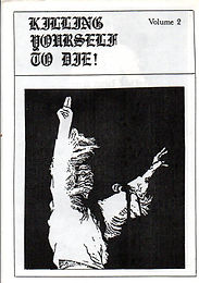 Black Sabbath - Fanzine - Killing Yourself To Die - No.2