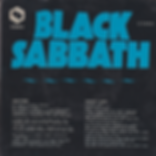 Black Sabbath - Solitude / Sweet Leaf - Singapore - S BS-4884 - 1972 - Back