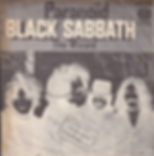 Black Sabbath - Paranoid / The Wizard - Israel - Vertigo 6059 010 - 1970 - Back