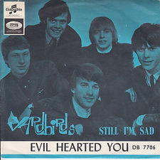 Yardbirds Evil Hearted You Norway