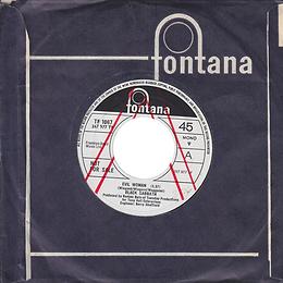 Black Sabbath - Evil Woman / Wicked World (Demo) - UK - Fontana 7437 - 1970