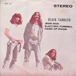 Black Sabbath - Iron Man / Electric Funeral / Hand Of Doom - Thailand - TKR -045 - 197?- Front