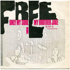 My Brother Jake / Only My Soul Island 10 157 AT - 1971