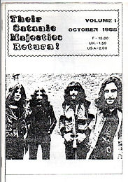 Black Sabath - Fanzine - Their Satanic Majesties Return - No.1