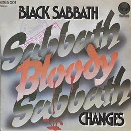 Black Sabbath - Sabbath Bloody Sabbath / Changes - Spain - Vertigo 6165 001- 1973 - Front