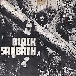 Black Sabbath - Paranoid / The Wizard - Singapore - Vertigo 6059 010- 1970 - Front