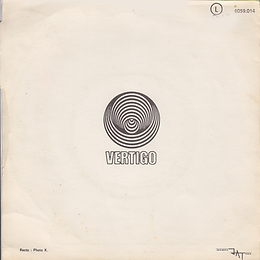 Black Sabbath -Paranoid / Rat Salad - France - Vertigo 6059 014 - 1970 - Back