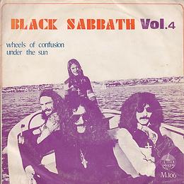 Black Sabbath - Wheels Of Confusion / Under The Sun - Thailand - 4 Track - M.106 - 197?- Front
