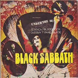 Black Sabbath - Under The Sun / Bloodrock - Jessica / Slade Gudbuy T' Jane - Thailand - 4 Track M.153 - 197?- Front