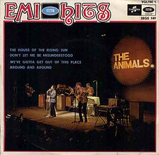 Animals The House Of The Rising Sun EP Sweden