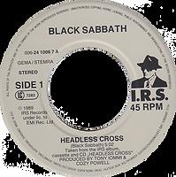 Black Sabbath - Headless Cross / Cloak And Dagger - Netherlands - I.R.S. 006-24 1006 7 - 1989 - Side 1