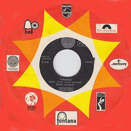 Black Sabbath - Paranoid / The Wizard - Lebanon - Vertigo 6059 010 - 1970 with sleeve