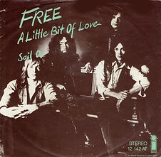 A Little Bit Of Love / Sail On  Island 12 142 AT - 1972