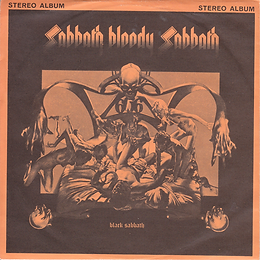 Black Sabbath - Looking For Today / Sabbath Bloody Sabbath / Abra Cadabra Warner Bros  S 2697 - 1974 - Front