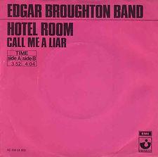 Edgar Broughton Band Hotel Room Holland