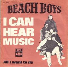 Beach Boys I Can Hear Music Denmark