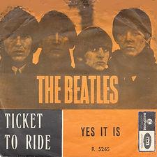 Beatles Ticket To Ride Norway
