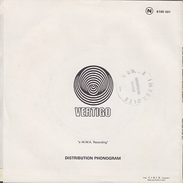 Black Sabbath - Sabbath Bloody Sabbath / Changes - France - Vertigo 6165 001 - 1973 Back