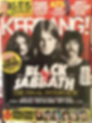 Black Sabbath Kerrang