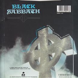 Black Sabbath - Devil And Daughter (One Sided) - UK I.R.S. EIRS 115- 1989 - Back
