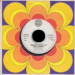 Black Sabbath -Tomorrow's Dream / Laguna Sunrise - Norway - Vertigo 6059 061 - 1972