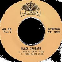 Black Sabbath - Paranoid / N.I.B. / Sweet Leaf / Iron Man - Thailand - 4 Track FT.955 - 197?- Side 2